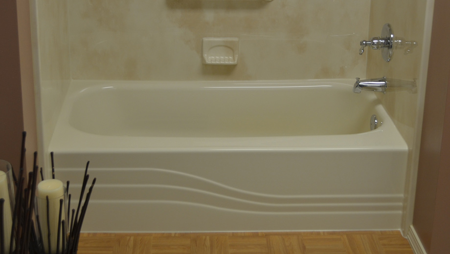 Bathtub liners custom shower wall liners one day bath for Shower tub liner