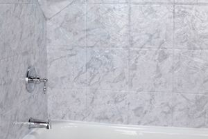 One Day Bath Tub Cuts Tile Reglazing Tub To Shower - Bathroom tile reglazing