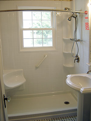 Beau Tub To Shower Conversion After