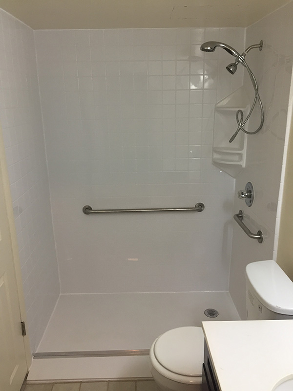 tub to shower gallery one day bath