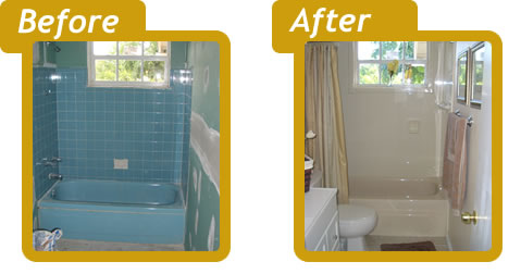 Use a bathtub liner to prevent fading and cracking for Tub liner